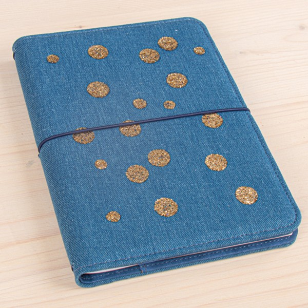 Planner A5 - Traveler's Notebook - Bleu jeans - 60 pages - Photo n°5