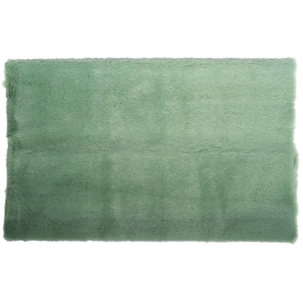 Coupon de tissu en peluche - Jade - 51 x 43 cm - Photo n°1