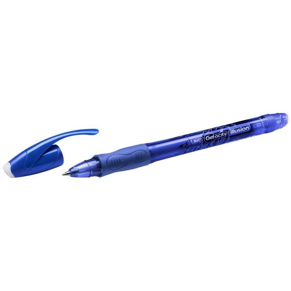 Stylo Bic Gel Ocity illusion - encre gel effaçable - Bleu - 1 pce - Photo n°1