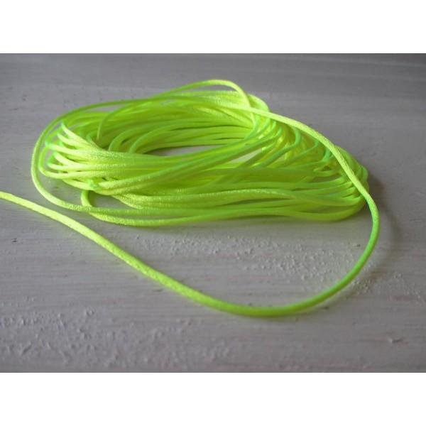 Fil nylon 1.2 mm jaune fluo x 5 m - Photo n°2
