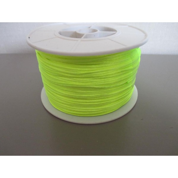 Fil nylon 1.2 mm jaune fluo x 5 m - Photo n°1