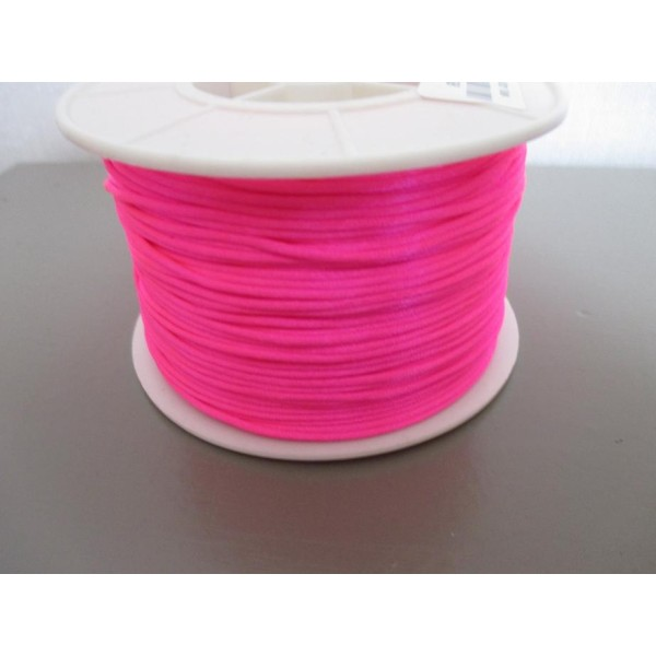 Fil nylon 1.2 mm rose fluo x 5 m - Photo n°1