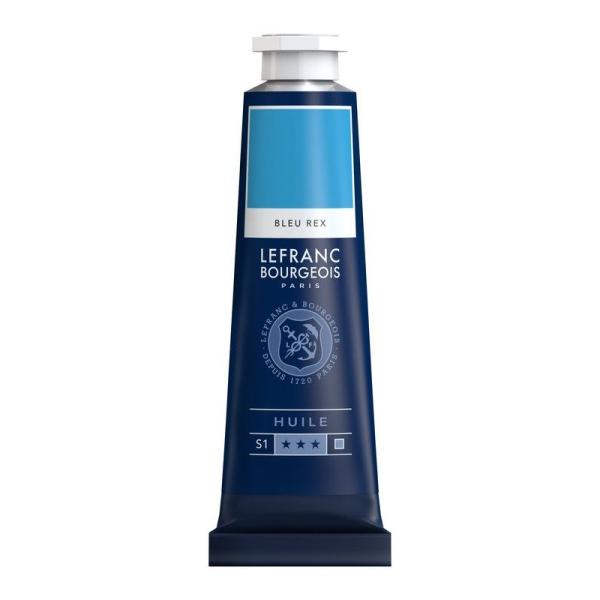 Peinture à l'huile fine 40ml Bleu rex Lefranc & Bourgeois - Photo n°1