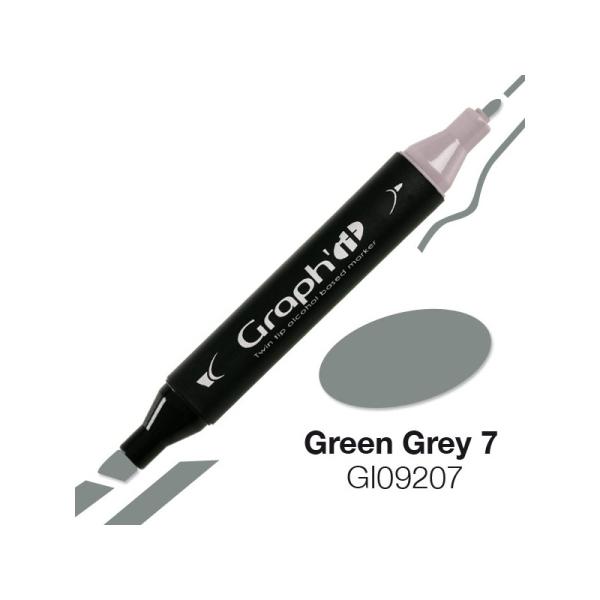 Graph'it marqueur à alcool 9207 - green grey 7 - Photo n°1