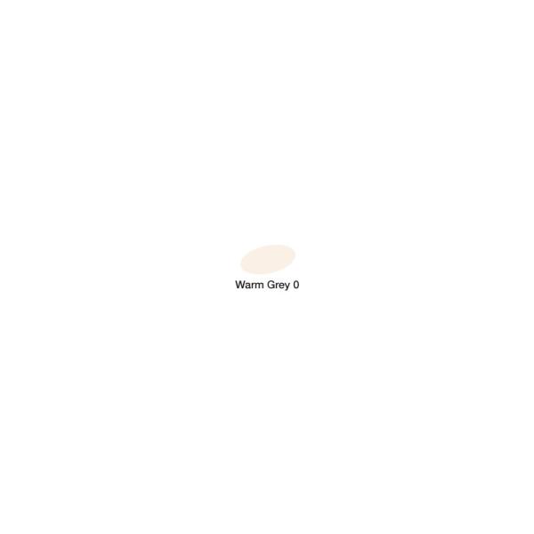 Graph'it marqueur à alcool 9400 - warm grey 0 - Photo n°2