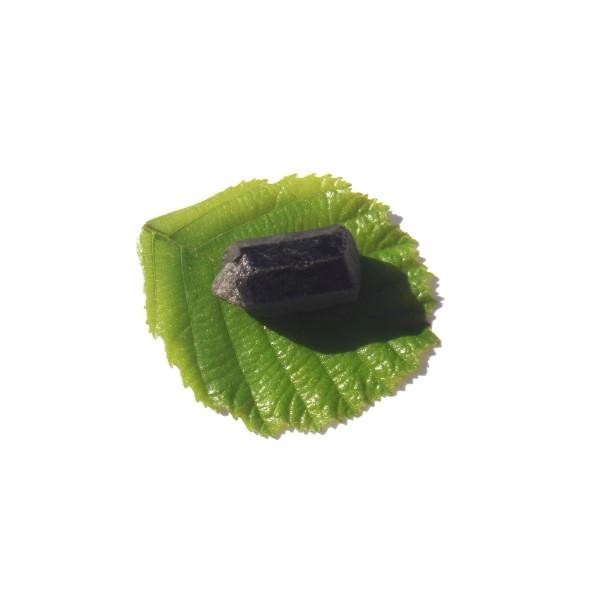 Petite Pierre brute Tourmaline Noire Brésil 2.5 CM x 1.5 CM de diamètre max - Photo n°2