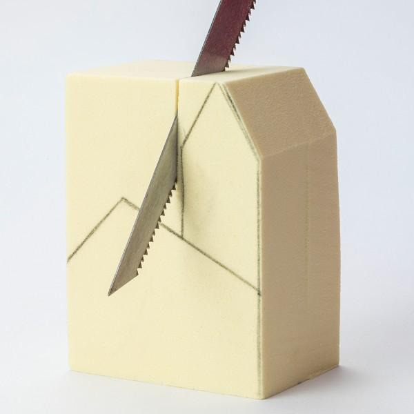 Bloc à sculpter et à peindre - 15x15x7,5 cm - Photo n°3