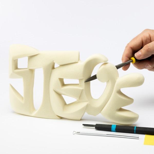 Bloc à sculpter et à peindre - 30x15x2,5 cm - Photo n°3