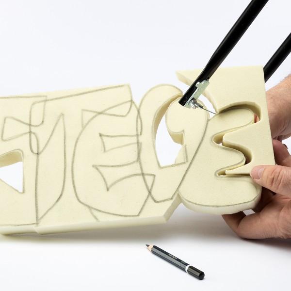 Bloc à sculpter et à peindre - 30x15x2,5 cm - Photo n°6