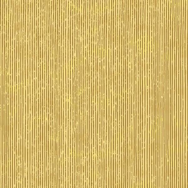 Tissu Toile de coton - Rayures dorés sur fond beige - Par 10 cm - Photo n°1