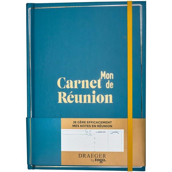 Mon carnet de réunion - 14,5 x 20,5 cm - 192 pages - Photo n°1