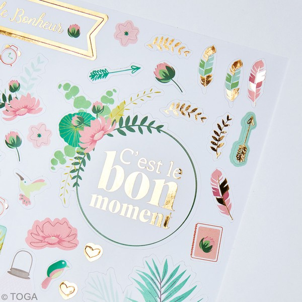 Kit stickers - Bullet journal - 4 planches - Photo n°3