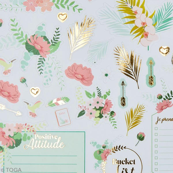 Kit stickers - Bullet journal - 4 planches - Photo n°4