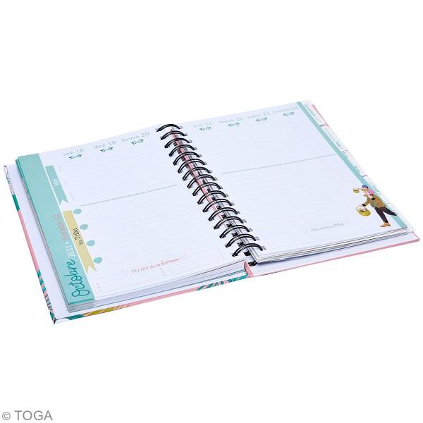 Agenda familial 2020 - 2021 - 15,5 x 21,5 cm - 228 pages - Photo n°2