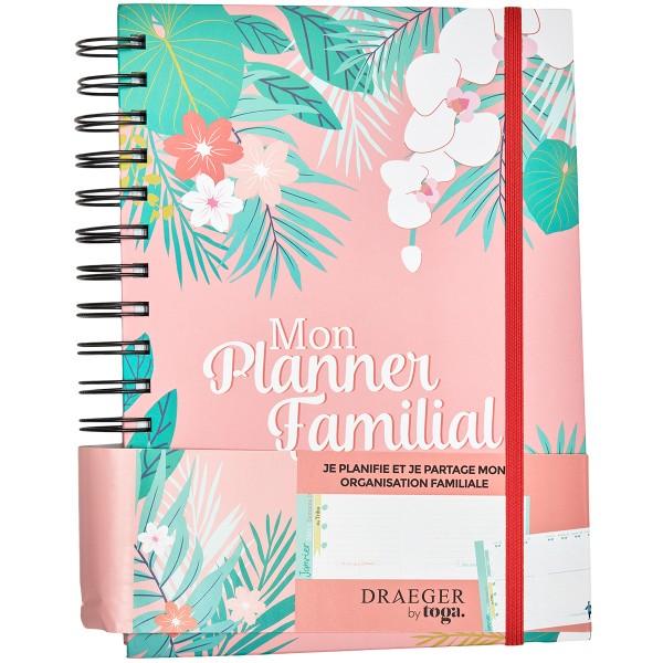 Agenda familial 2020 - 2021 - 15,5 x 21,5 cm - 228 pages - Photo n°1