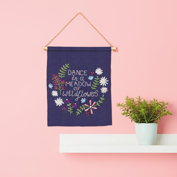 Kit Broderie Simply Make - Décoration murale - Photo n°2