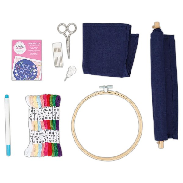 Kit Broderie Simply Make - Décoration murale - Photo n°3