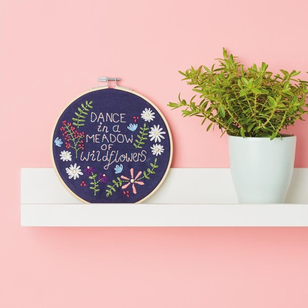Kit Broderie Simply Make - Décoration murale - Photo n°4
