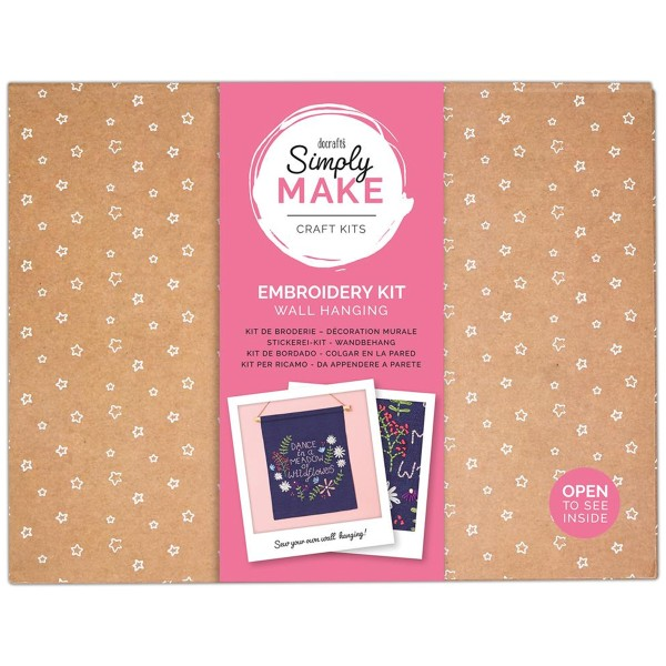 Kit Broderie Simply Make - Décoration murale - Photo n°1