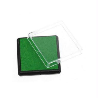 Encreur Carré Pour Tampon Vert