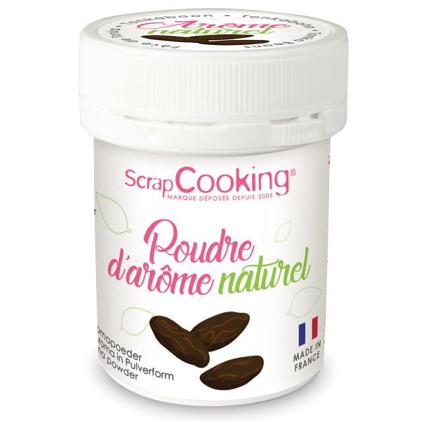 Poudre d'arôme naturel alimentaire - Fève Tonka - 15 g - Photo n°1