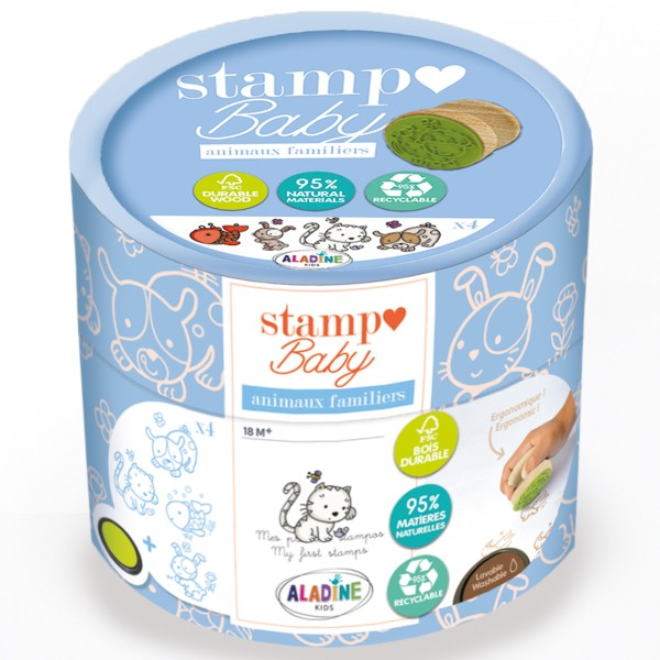Kit Stampo Baby Eco Friendly - Animaux de compagnie - pcs - Photo n°1