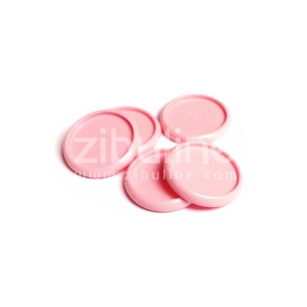 Disques à relier - 30 mm Rose pâle - Photo n°1