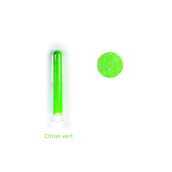 Paillette fine poudre 3 gr coloris Vert citron - Photo n°1