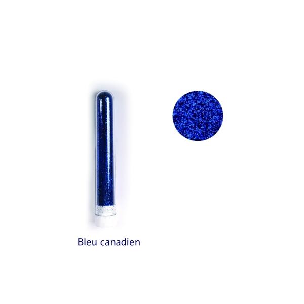Paillette fine poudre 3 gr coloris bleu canadien - Photo n°1