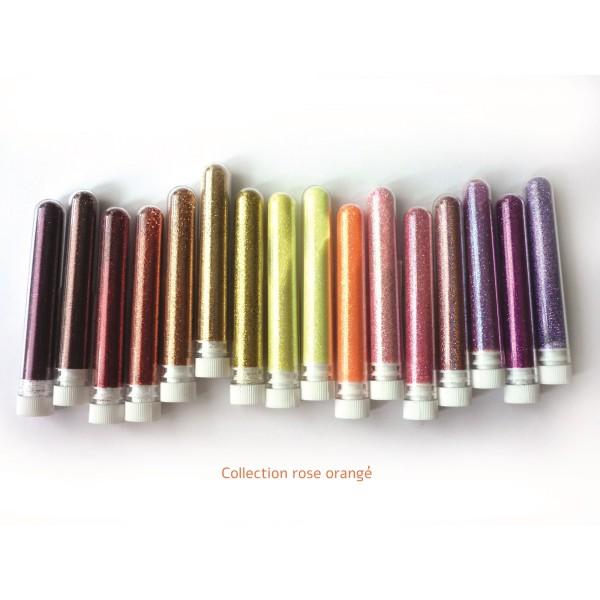 Paillettes  fine poudre 3 gr coloris or clair - Photo n°2