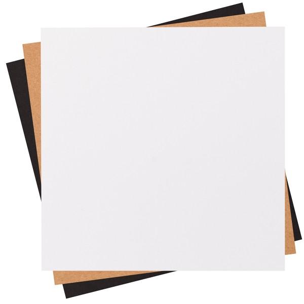 Assortiment de papier cartonné - 30,5 x 30,5 cm - 30 pcs - Photo n°2