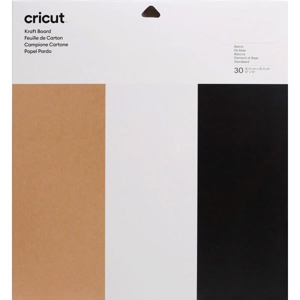 Assortiment de papier cartonné - 30,5 x 30,5 cm - 30 pcs - Photo n°1