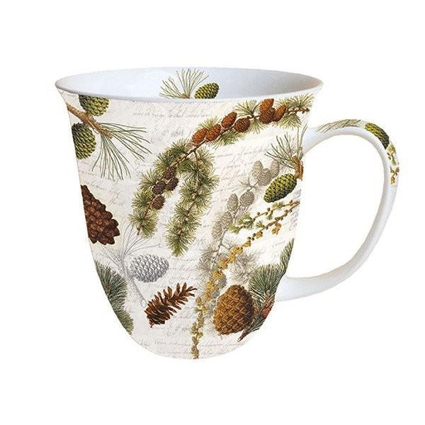 Mug, tasse, porcelaine AMBIENTE 10.5 cm 0.4 l LIFE IN FOREST - Photo n°1