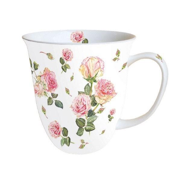 Mug, tasse, porcelaine AMBIENTE 10.5 cm 0.4 l ROSIE - Photo n°1