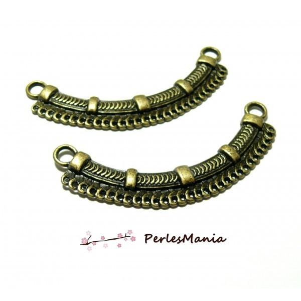 PS1124884 PAX 5 multiconnecteurs Chandeliers Imitation Chaine 6.9cm metal couleur Bronze - Photo n°1