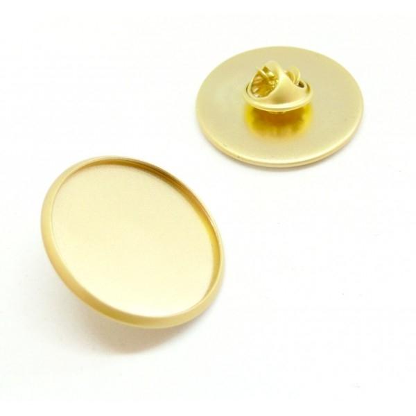 BN1131163 PAX 10 supports de broche PINS en 25mm Laiton couleur Doré Mate - Photo n°1