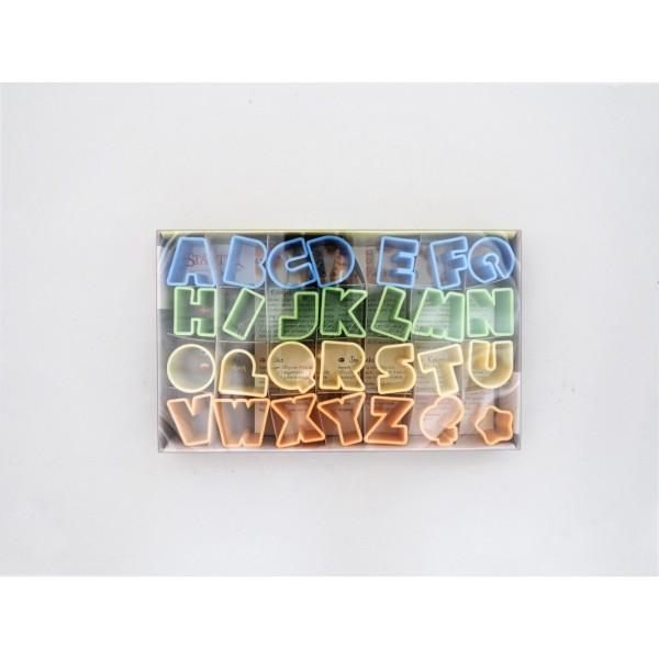 Emporte-pièces Alphabet - Photo n°1
