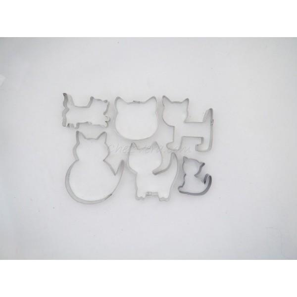 Set d'emporte-pièces pour les amoureux de chat - Photo n°1