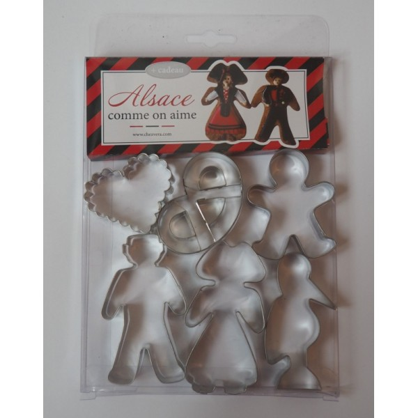 Emporte-pièces en thème Alsace comme on aime - Photo n°1