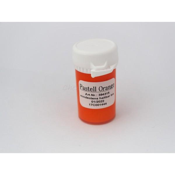 Colorants alimentaire gel - Orange pastel - Photo n°1