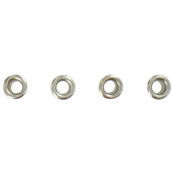 Oeillets mini 2,5 mm classique Argenté x 100 - Photo n°1