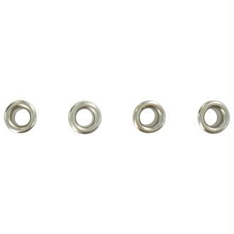 Oeillets mini 2,5 mm classique Argenté x 100
