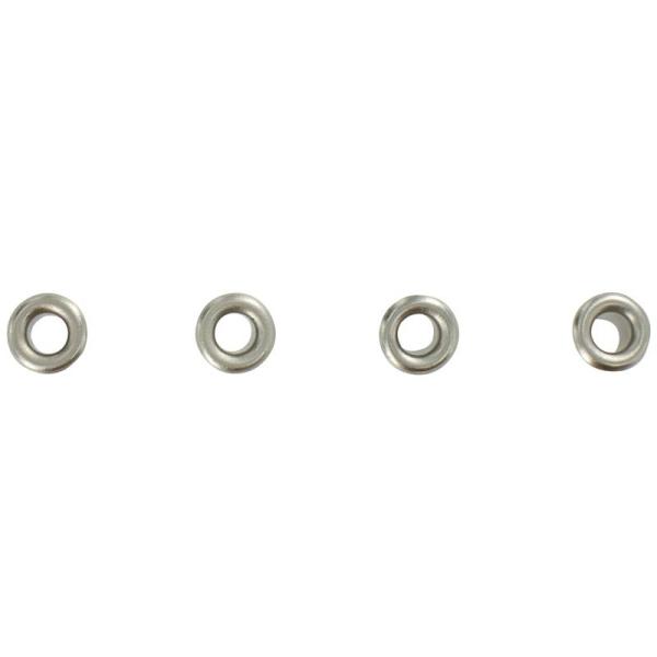 Oeillets 3 mm classique Argenté x 64 - Photo n°1