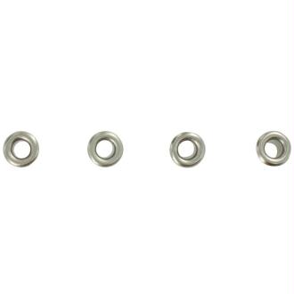 Oeillets 3 mm classique Argenté x 64
