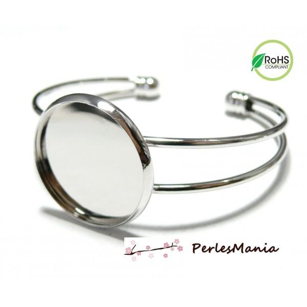 BN1127256 PAX 1 support de bracelet 25mm couleur Argent Platine - Photo n°1