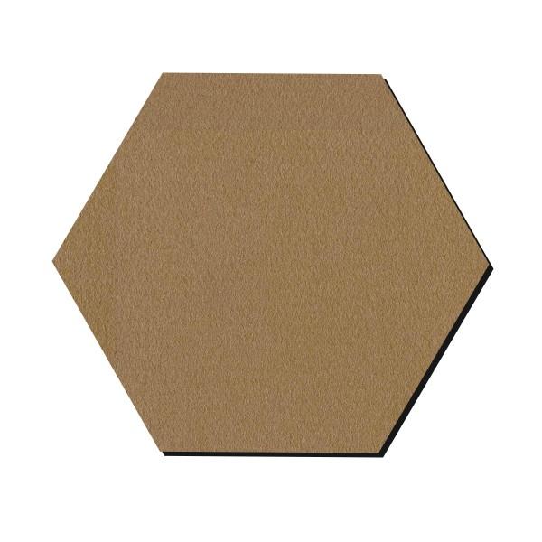 Forme en bois à décorer - Hexagone - 25 cm - Photo n°1
