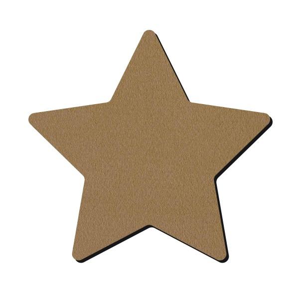 Forme en bois à décorer - Étoile - 15 cm - Photo n°1