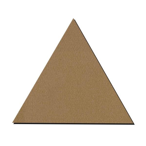 Forme en bois à décorer - Triangle - 25 cm - Photo n°1