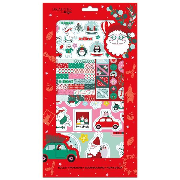 Kit Scrapbooking Stickers - Noël - Photo n°1