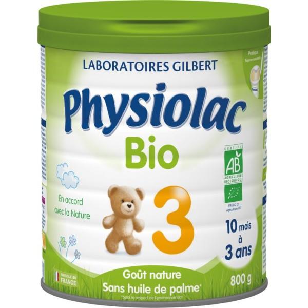 Physiolac Bio 3 - lot de 6 boites de 800g - Photo n°1